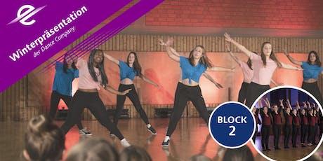 Dance Company Winterpräsentation BLOCK 2 Tickets