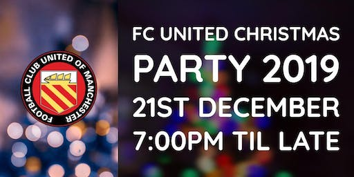 FC United Christmas Party