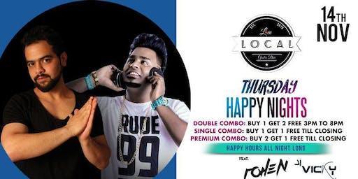 Thursday Happy Nights - DJ ROHEN & DJ VICKY
