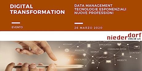 Digital Transformation Strumenti e Metodi biglietti