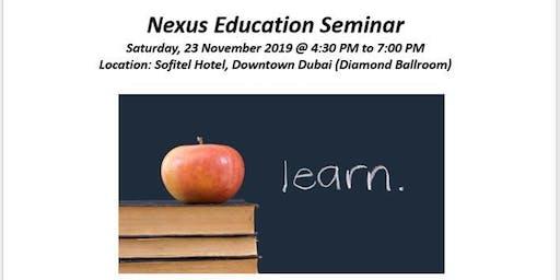 Nexus Education Seminar