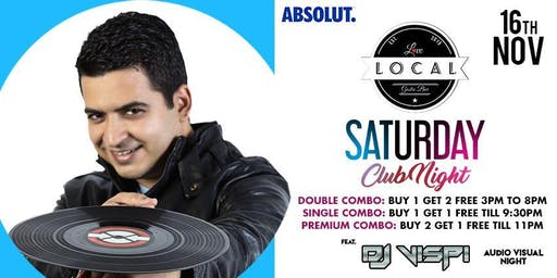 Saturday Club Night - DJ VISPI