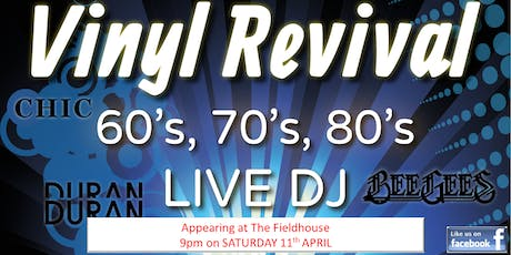 60s, 70s & 80s Party at The Fieldhouse - ft. Vinyl Revival DJs tickets