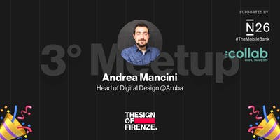3# THESIGNOF Firenze con Andrea Mancini head of digital design @Aruba