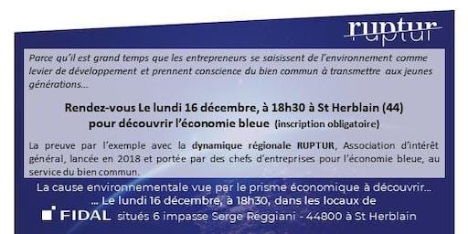Présentation de RUPTUR v/s Blue Economy le 16/12/19 chez FIDAL