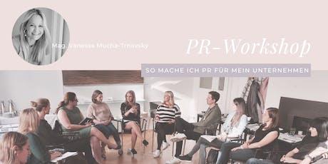 PR-Workshop: So mache ich PR für mein Unternehmen. Tickets