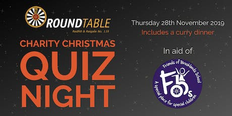 Redhill & Reigate Round Table Christmas Quiz Night tickets