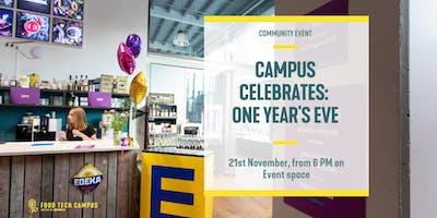Campus Celebrates: One Years Eve
