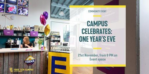 Campus Celebrates: One Year's Eve