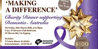 Charity Dinner supporting Dementia Australia