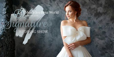 Signature Wedding show at Mercedes-Benz World