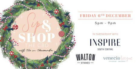 Sip & Shop The CBD With Two In Toowoomba Christmas Edition tickets