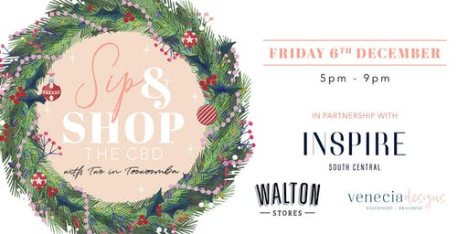 Sip & Shop The CBD With Two In Toowoomba Christmas Edition