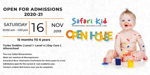 Open House- Safari Kid Marol