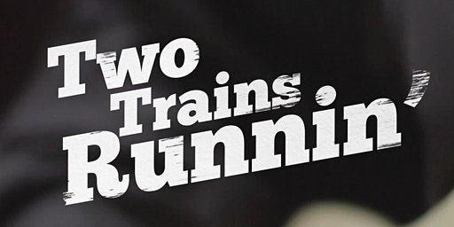 Film 'Two trains Runnin' en trio Guy Verlinde (B)
