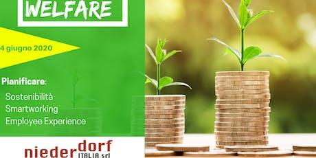 Pianificare il Welfare Aziendale biglietti