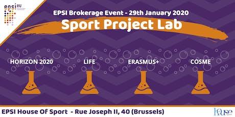 Sport Project Lab - EPSI Brokerage Event 2020 billets
