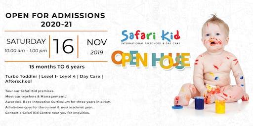 Open House- Safari Kid Borivali