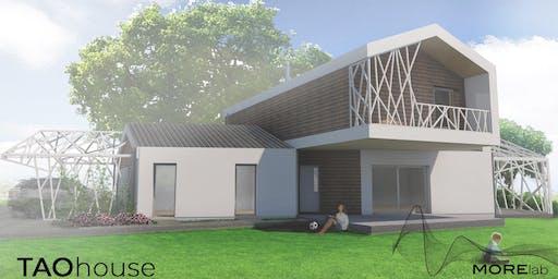 Visita in cantiere  alla TAO HOUSE - Abitazione olistica in Bioarchitettura