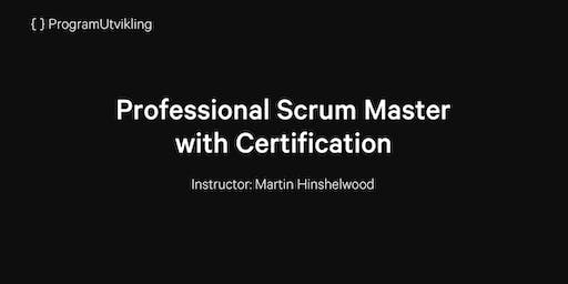 Professional Scrum Master with Certification - 13-14 January 2020