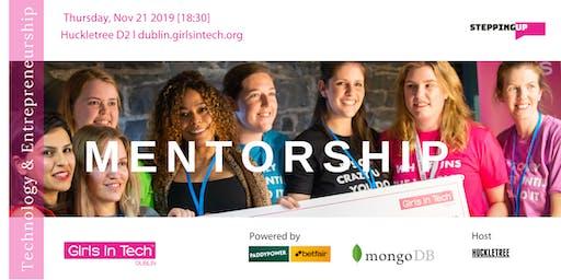 Mentorship for Technology & Entrepreneurship - Nov 2019
