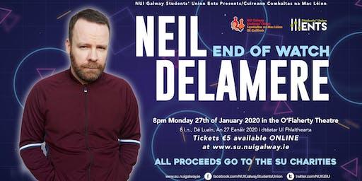 NUIGSU Charity Comedy Neil Delamere