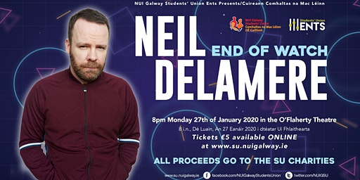 NUIGSU Charity Comedy Neil Delamere
