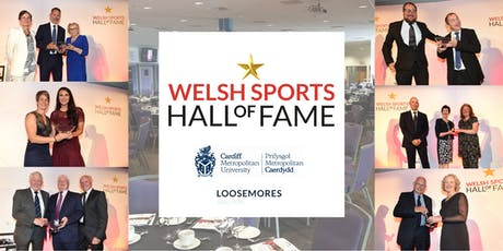 Welsh/Cymru Sports Hall of Fame Roll of Honour Dinner tickets