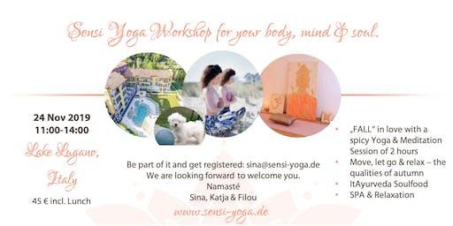 """Sensi """"FALL"""" in Love Yoga Workshop"""
