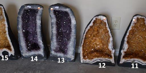 Huge Gem Amethyst Rock Fossil Sale November 16, 17!!!!