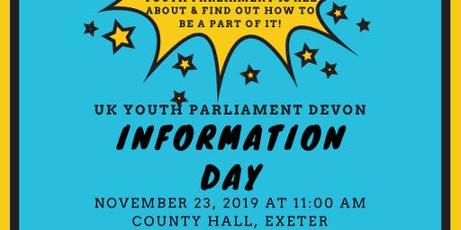 UK Youth Parliament Information Day