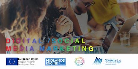 Focus Digital - Digital / Social Media Workshop tickets
