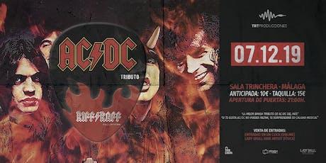 Tributo AC/DC - Riff Raff Reunión - Malaga entradas