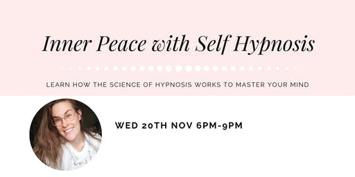 Inner Peace and Calm with Self Hypnosis
