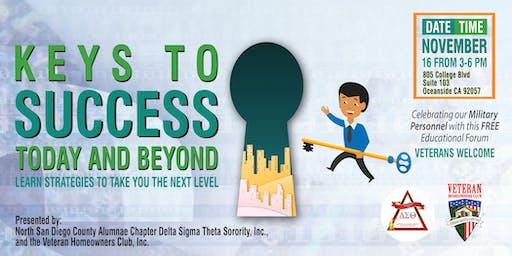 Keys to Success Educational Forum