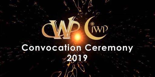 CWP&CiWP Graduation Event 2019