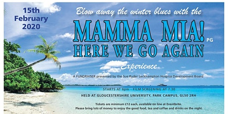 Mamma Mia experience in support of Sue Ryder Leckhampton Court Hospice tickets