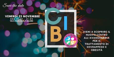 Inaugurazione C.I.B.O biglietti