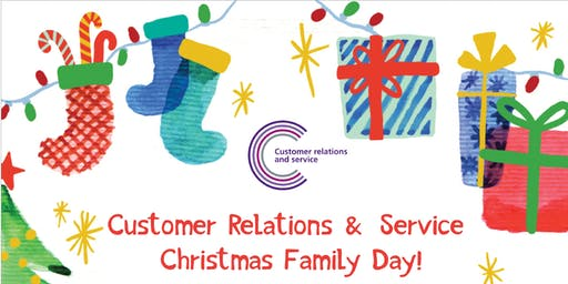 Customer Relations & Service Christmas Family Day!