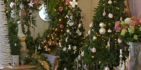Curso  gratuito de decoración de Navidad en CANTERANO! tickets