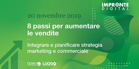 8 passi per aumentare le vendite [Modena] biglietti