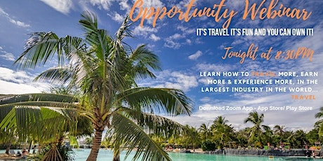 Travel Business Opportunity Webinar Online tickets