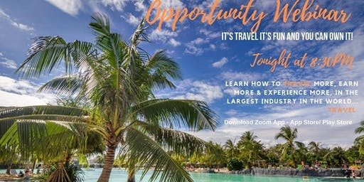 Travel Business Opportunity Webinar Online