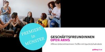 *Unternehmerinnen-Treffen* Geschäftsfreundinnen OPEN ARMS