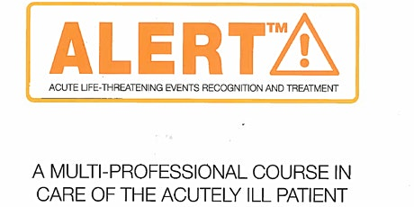 ALERT Course - Chelsea and Westminster Hospital, 18th September 2020 tickets