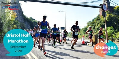 Bristol Half Marathon - Run for Bristol's mental wellbeing