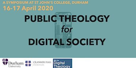 Public Theology for Digital Society tickets