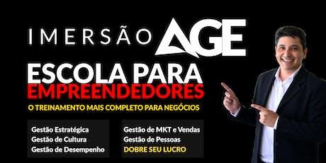 IMERSÃO AGE - Foz do Iguaçu entradas