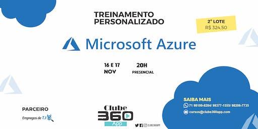 Treinamento personalizado em Microsoft Azure