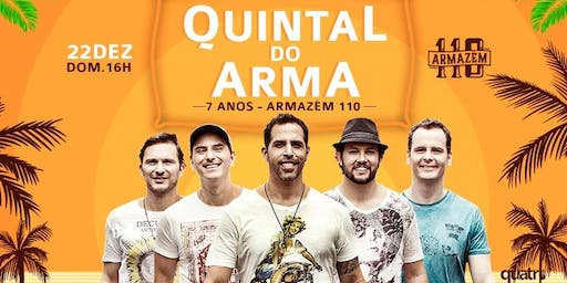 Quintal do Arma #7AnosArmazem110